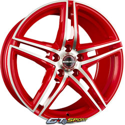 Jante alu BORBET XRT Racetrack red
