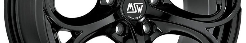 MSW 82 Noir brillant