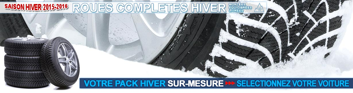 Roues compl�tes hiver